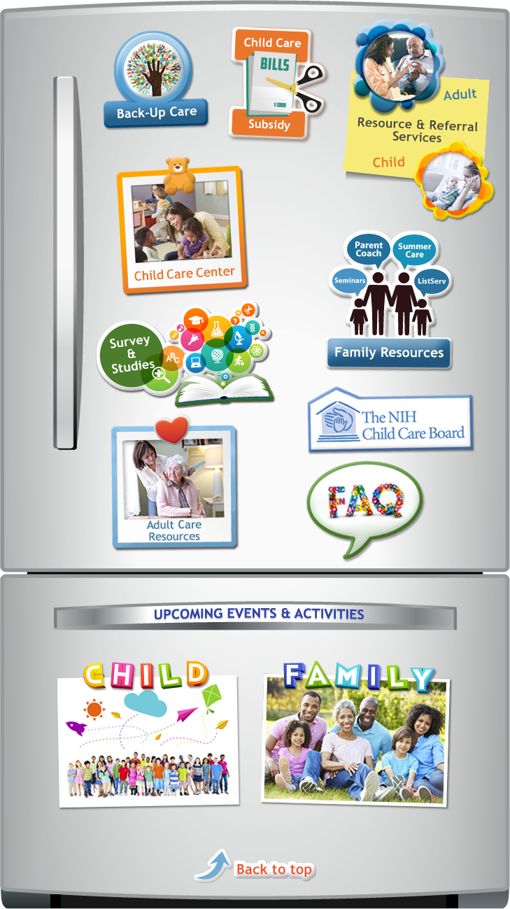 Child and Family Program Refrigerator Image