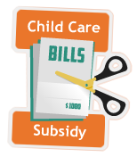 Child Care subsidy icon