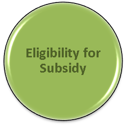 Eligibility for Subsidy Button