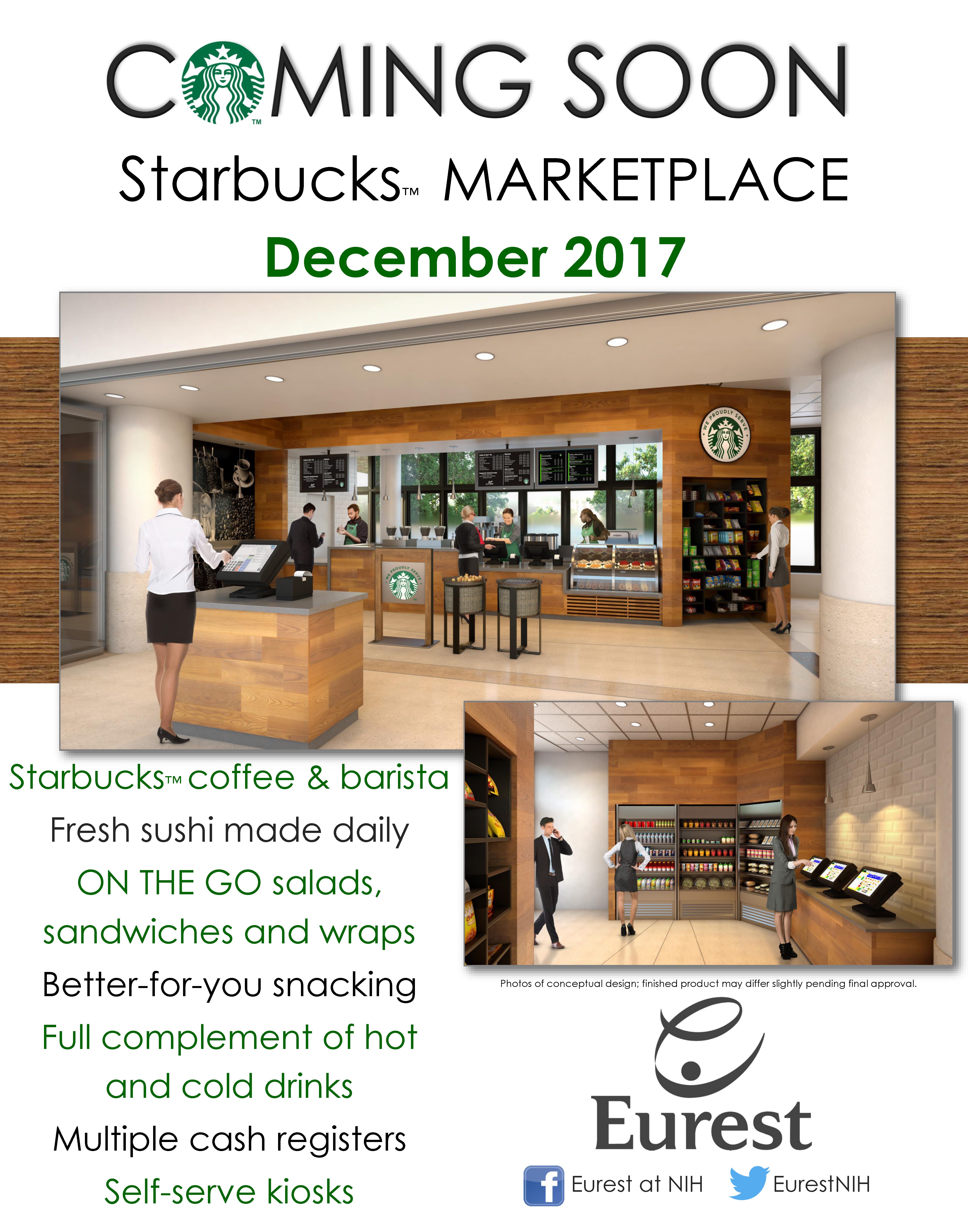 Coming Soon Starbucks Marketplace