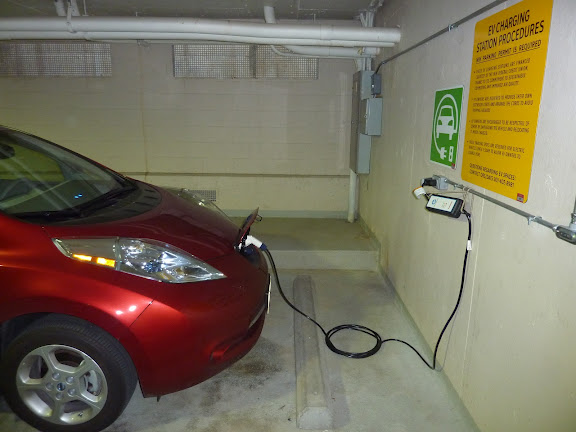 Electrical Vehicle Charging Station in MLP-7