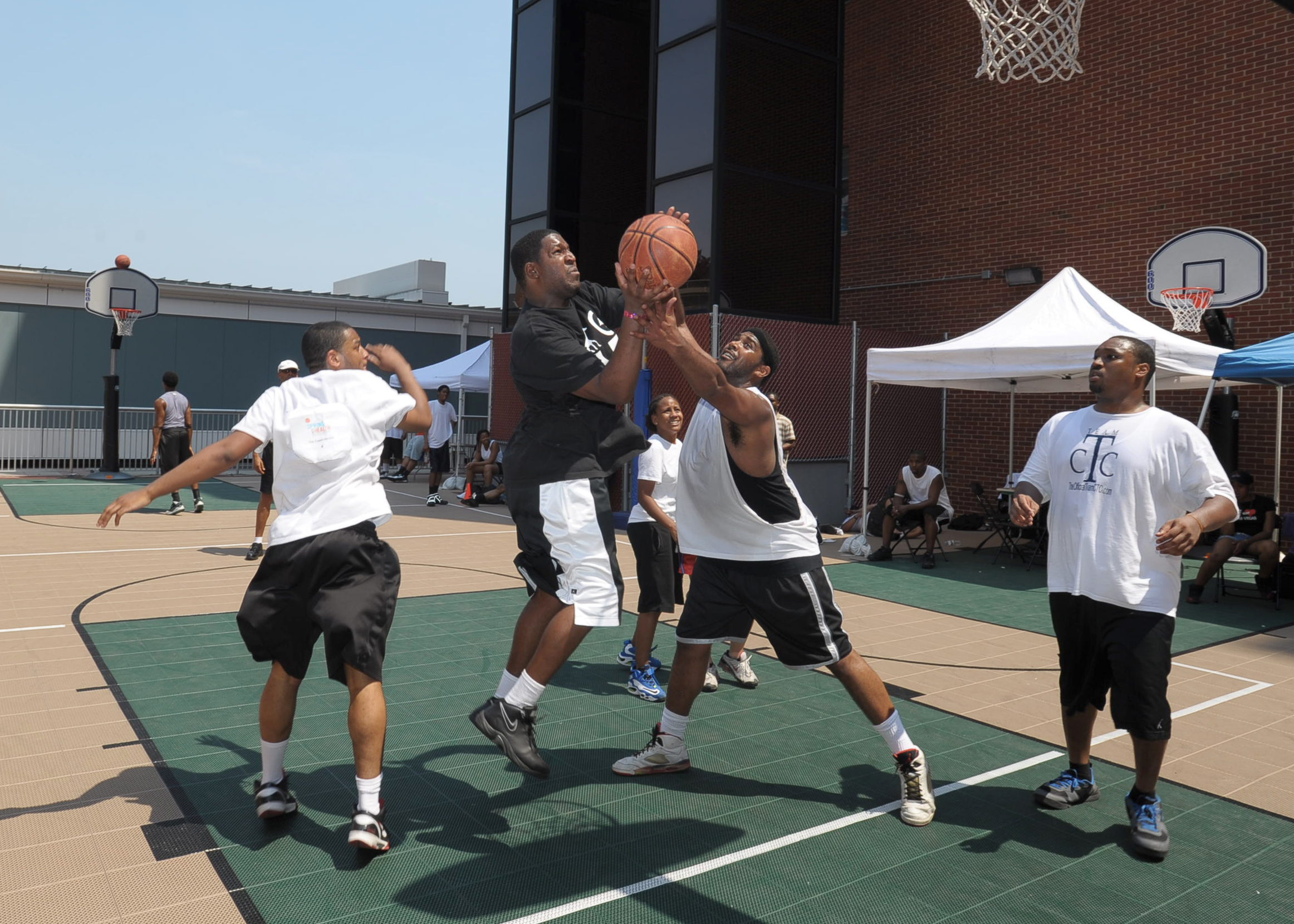 3on3 men's basketball tournament