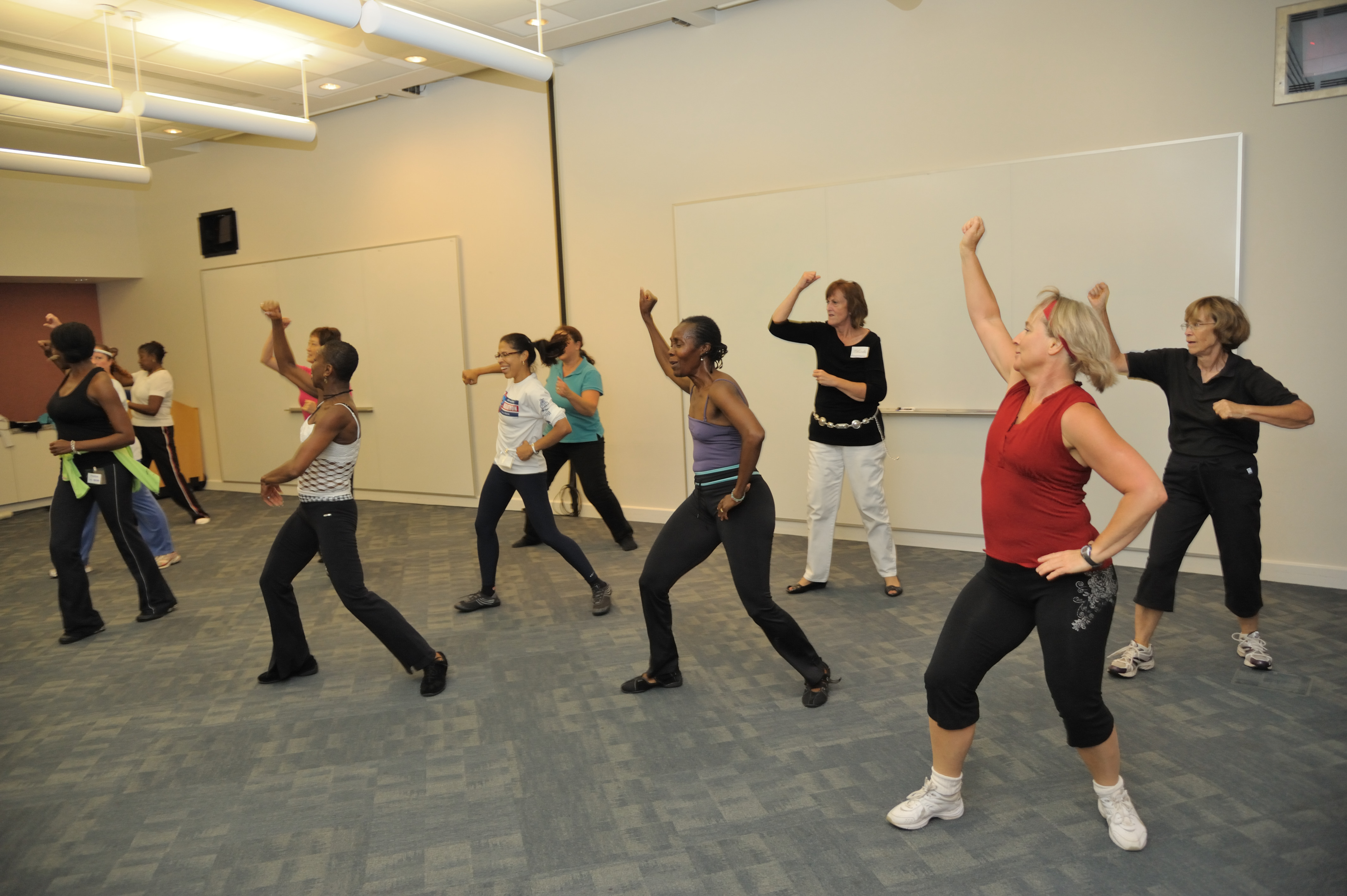 Health and Wellness Expo Dance Class
