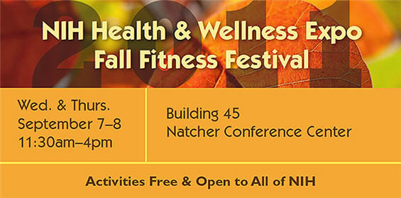 NIH Health & Wellness Expo Fall Fitness Festival