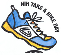 Take a Hike Day Shoe logo