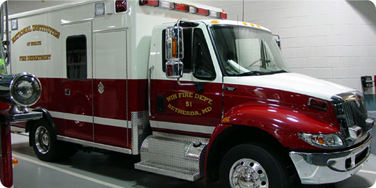 NIH Fire Department 51