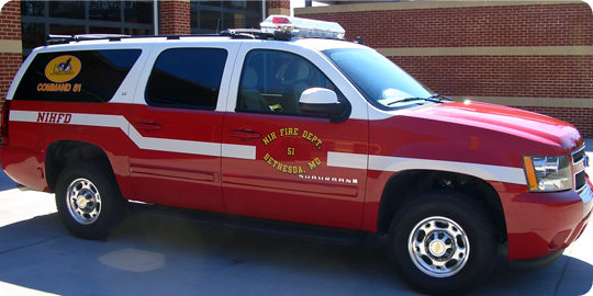 NIH Fire Department 51 Vehicle