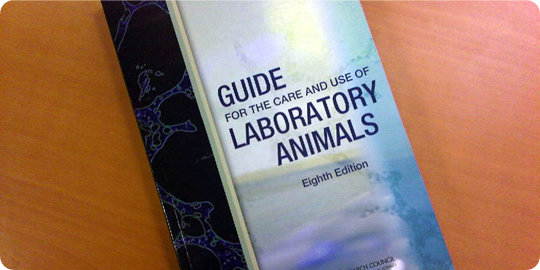 Guide for the Care and Use of Laboratory Animals - 8th Edition